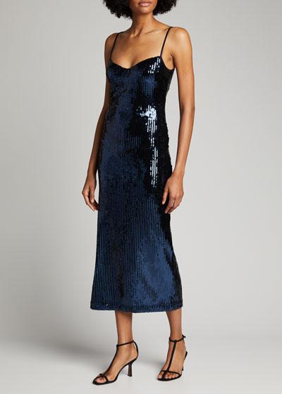 Berlin Sequined Bustier Dress