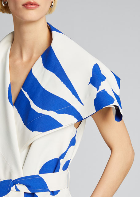Long Printed Vest