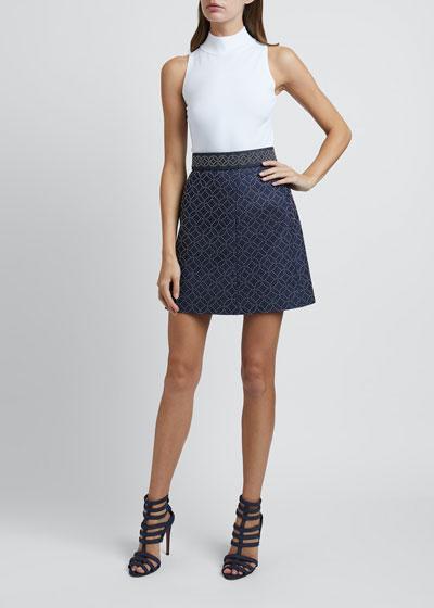 Arabesque Studded Skirt