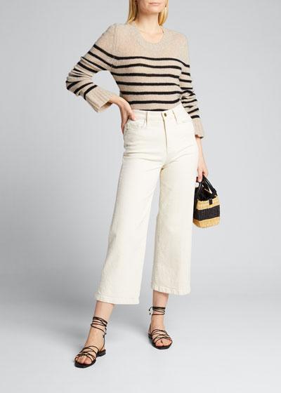 Tilda Cashmere Striped Sweater