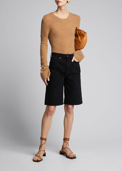 Mitch Denim Bermuda Shorts