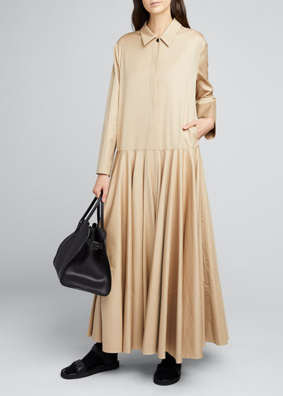 Rey Maxi Shirtdress