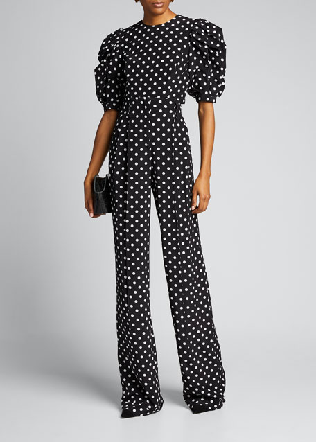Image 1 of 1: Dotted Palazzo Pants