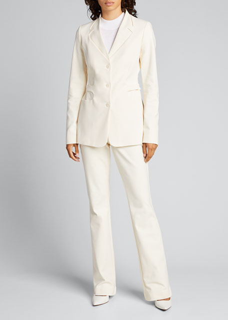 Image 1 of 1: Stretch Tailored Trousers