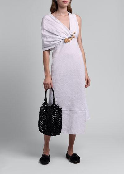 Tela Fiammata Runway Dress