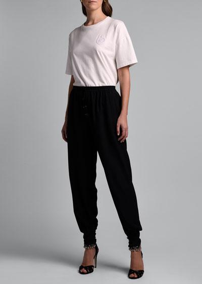 Silk Harem Pants