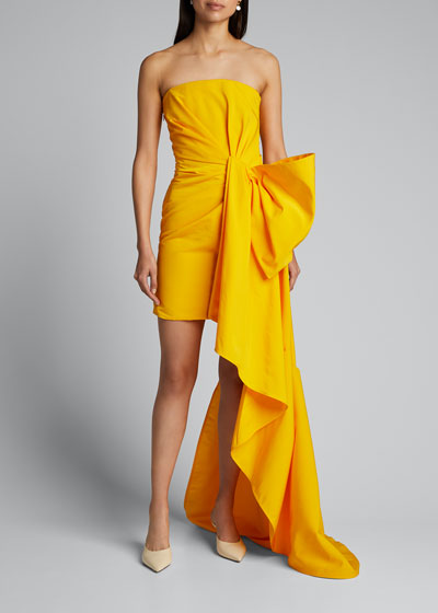 Faille Cocktail Dress
