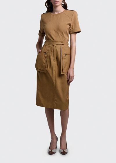 Bosso Utility Pocket Skirt