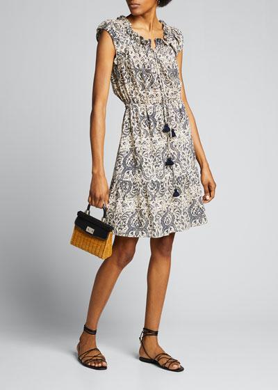 Gianna Cotton Mini Dress