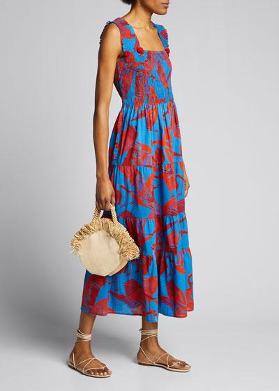 Luella Poplin Maxi Dress