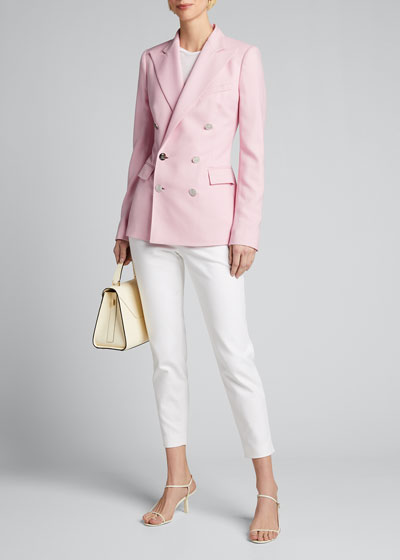 Camden Cashmere Jacket, Pink
