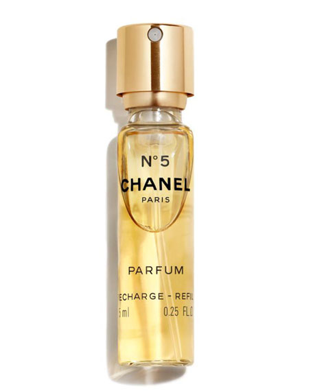 <b>N°5 </b><br> Parfum Purse Spray Refill, 0.25 oz.