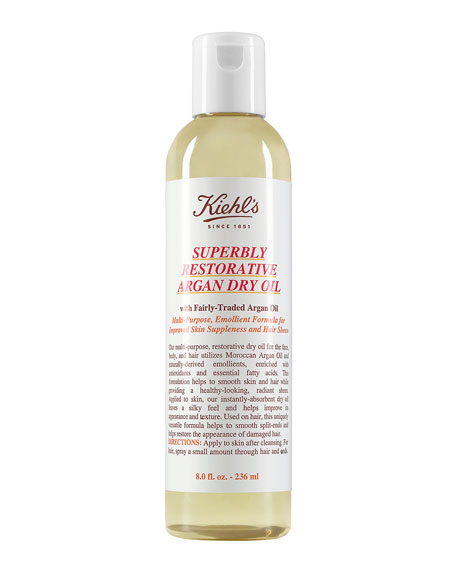 Kiehl's Since 1851 Superbly Restorative Argan Dry Oil,