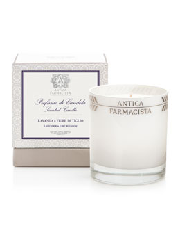 Antica Farmacista Round Lavender Lime Candle, 9 oz.