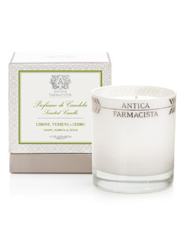 Antica Farmacista Round Lemon Verbena Candle, 9 oz.
