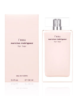 Narciso Rodriguez For Her L'eau Eau de Toilette, 3.3oz