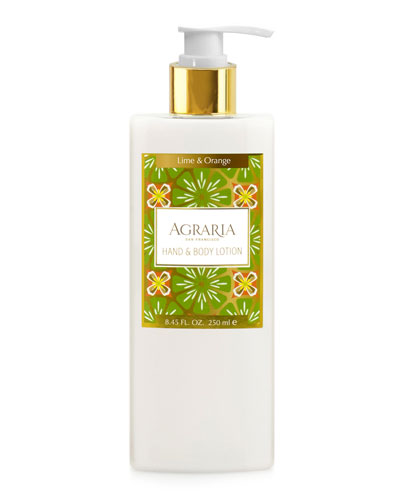 Lime & Orange Blossoms Hand & Body Lotion