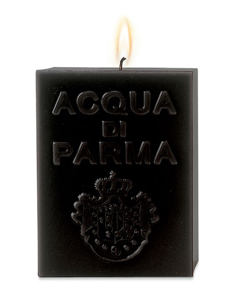 Acqua di Parma BLACK CUBE CANDLE (AMBER)