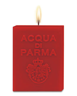 Acqua di Parma Red Cube Candle, Spices