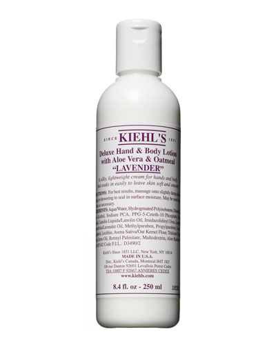 Lavender Deluxe Hand & Body Lotion with Aloe Vera & Oatmeal, 8.4 fl. oz.