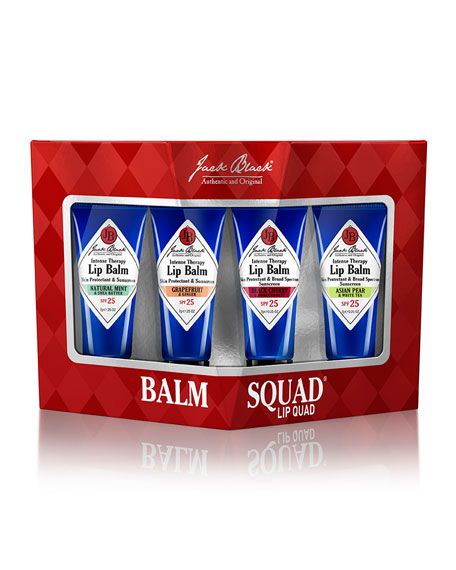 Balm Squad Lip Quad Set