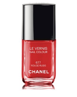 CHANEL LIMITED EDITION LE VERNIS ROUGE RUBIS Nail Colour