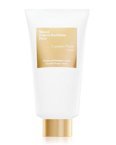 Lumière Noire femme Scented body cream, 150mL