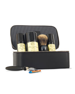 4 Elements of the Perfect Shave Travel Kit, Unscented