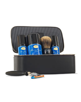 4 Elements of the Perfect Shave Travel Kit, Lavender