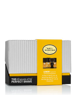 4 Elements of the Perfect Shave Mid-Size Kit, Lemon