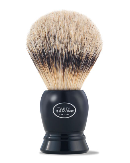 Fine Badger Hair Brush, Black