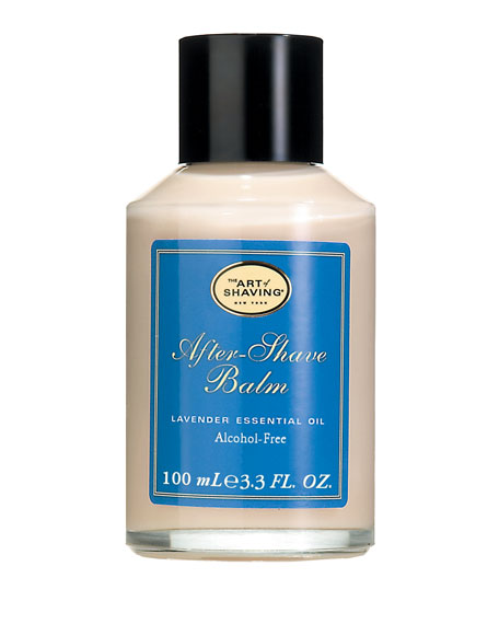 THE ART OF SHAVING Alcohol-Free After-Shave Balm, Lavender in Blue