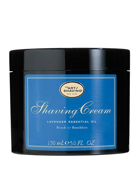Brush or Brushless Shaving Cream, Lavender