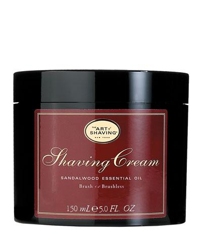 Brush or Brushless Shaving Cream  Sandalwood