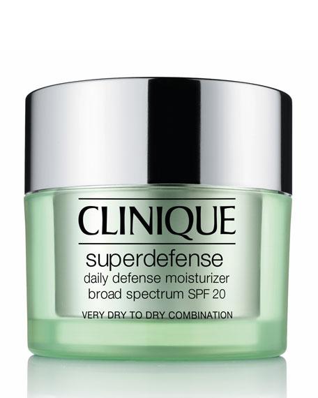 Superdefense Daily Defense Moisturizer Broad Spectrum SPF 20 Skin Types 1 & 2, 50ml