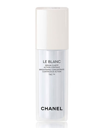 CHANEL LE BLANC: BRIGHTENING CONCENTRATE CONTINUOUS ACTION TXC 1oz (Limited Edition)
