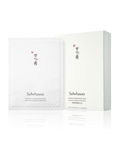 Snowise EX Brightening Mask, 10 Sheets