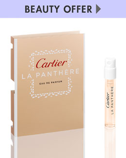 Cartier Fragrance Yours with any $125 Cartier Fragrance purchase
