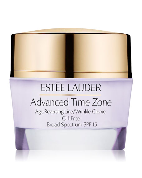 Advanced Time Zone Age Reversing Line/Wrinkle Creme Oil-Free Broad Spectrum SPF 15, 1.7 oz.