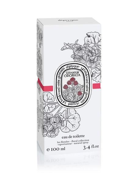 Geranium Odorata Eau de Toilette, 3.4 oz.