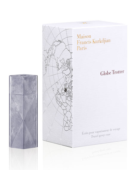 Globe Trotter Zinc Travel spray case