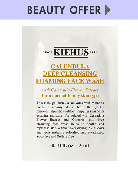 Yours with any Kiehl's Since 1851 Calendula Toner purchase