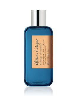 Orange Sanguine Body and Hair Shower Gel, 8.9 oz.