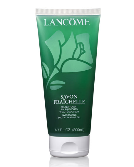 Lancome Savon Fraichelle Invigorating Body Cleansing Gel, 6.8