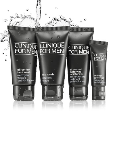For Men Great Skin To Go Kit, Oily Skin