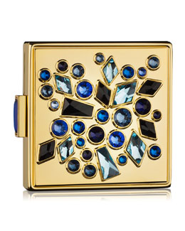 Estee Lauder Limited Edition Sapphire Sparklers Powder Compact