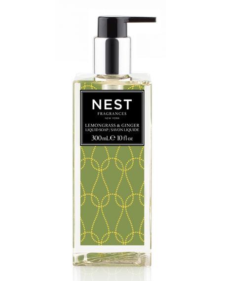 Lemongrass & Ginger Liquid Soap, 10 oz.