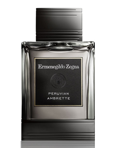 Zegna Essenze Peruvian Ambrette Eau de Toilette, 4.2 oz./ 125 mL