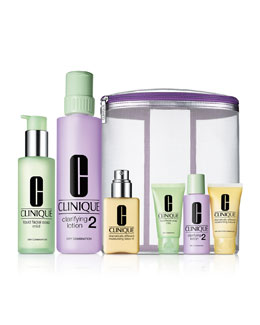 Clinique LIMITED EDITION Great Skin Home & Away, Skin Type I/II