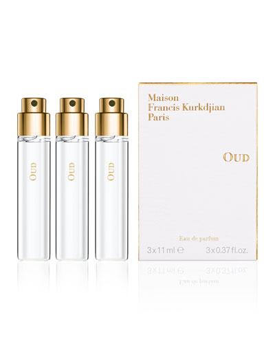 OUD Eau de parfum Spray, 3 Refills, 0.37 fl. oz. each